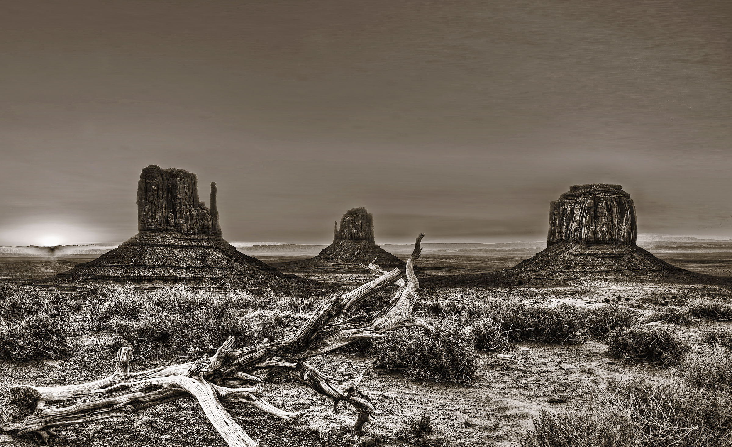 Monument Valley Sepia Southwest Landscape Wick Beavers Best Portrait Photographer in NYC New York City Portraiture and Fine Art Photography in LA Rome Berlin Munich Paris