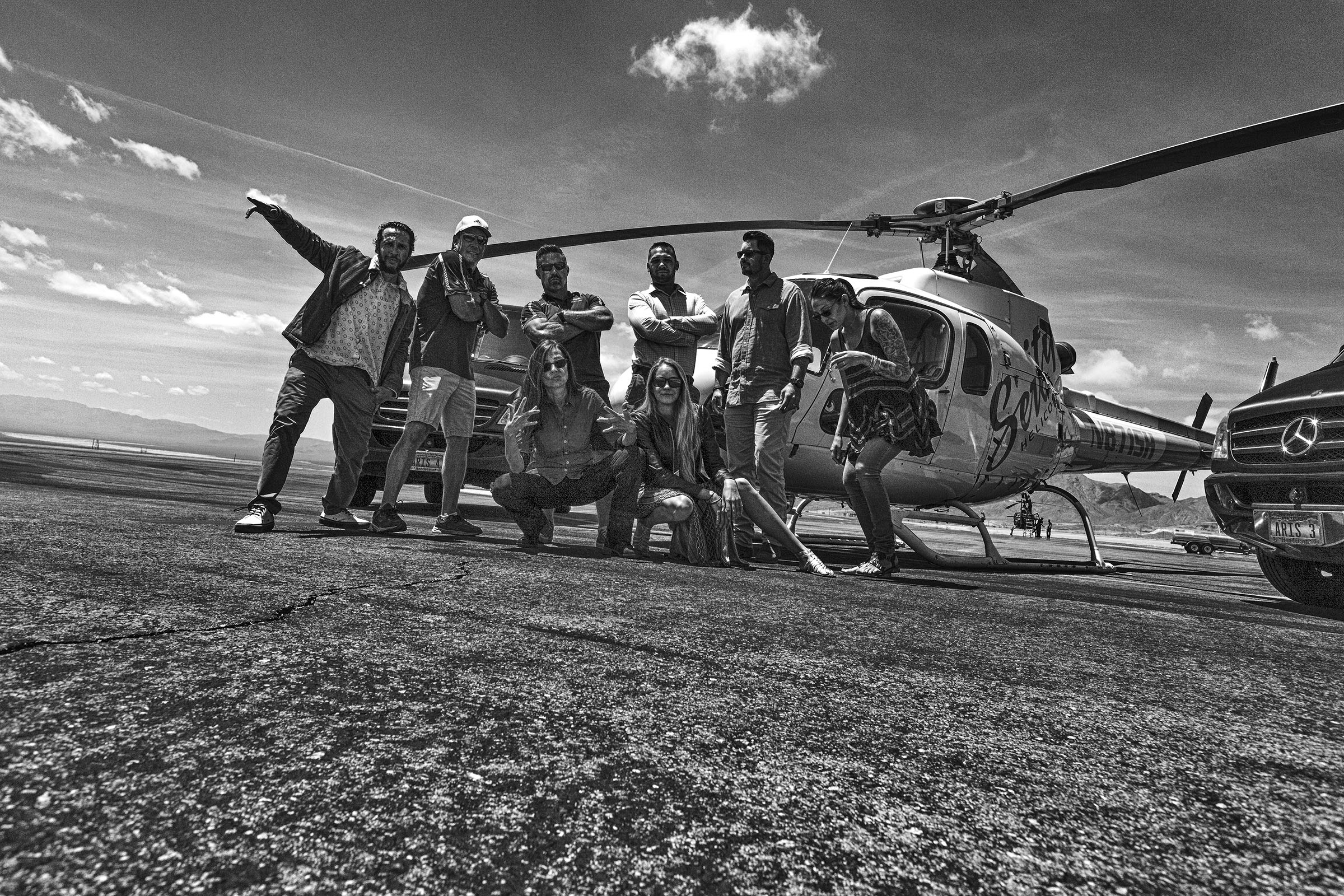 Serenity Helicopters Grand Canyon Boulder City Airport The Crew Team Wick Beavers