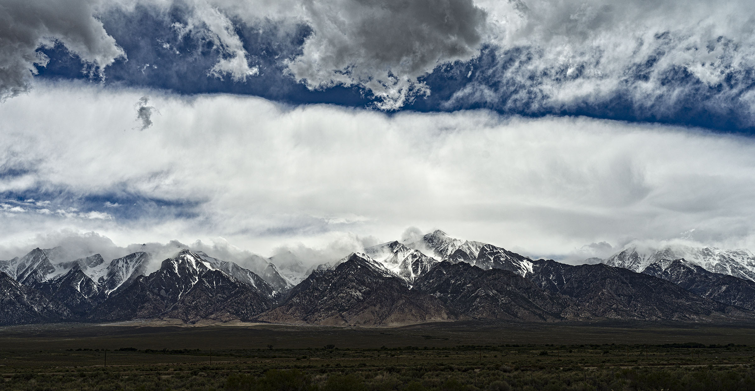 East Side of the Sierras, near Whitney, Wick Beavers Photographer