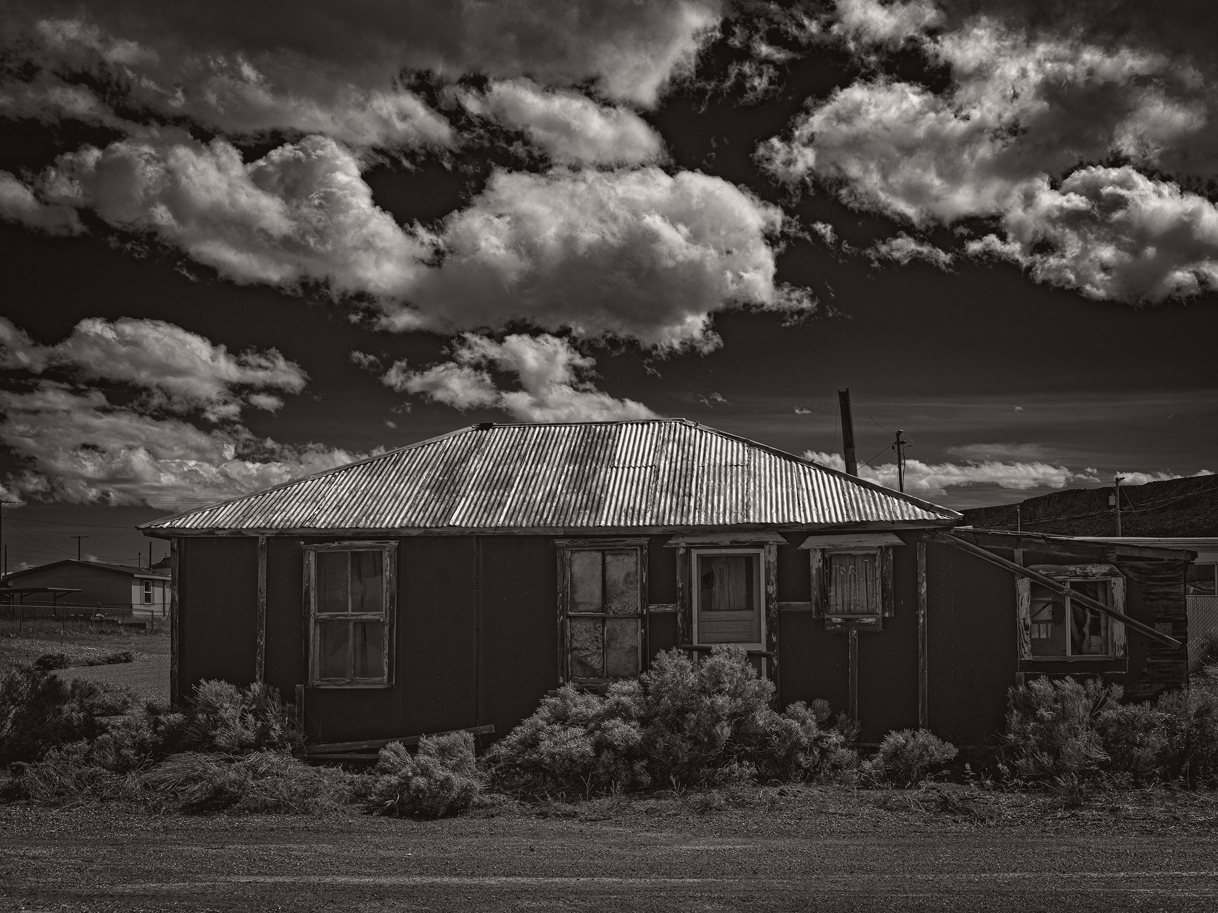 Town gone Bust abandoned House Photogenic Landscape Photography by award winning Fine art Photographer Wick Beavers NYC LA